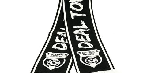 Deluxe HD custom football scarf