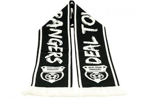 custom HD football scarf