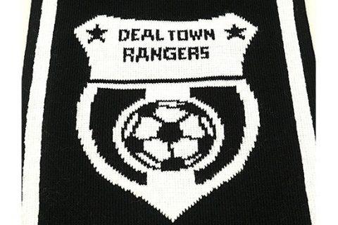 custom HD football scarf detail