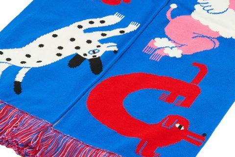 custom art design HD scarf