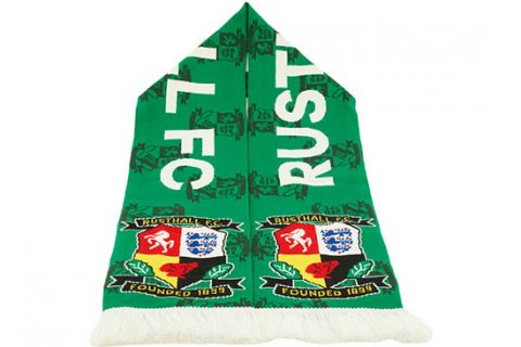 custom deluxe football scarf Rusthall FC 2nd design