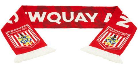 custom hd football scarf Newquay AFC