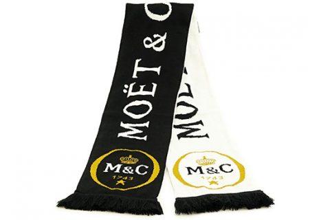 custom hd scarf Moet & Chandon