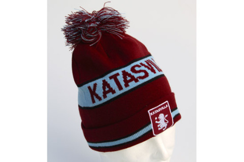 Beanie hat with embroidered logo katasvilla