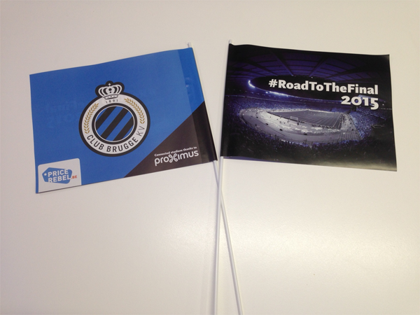 Club Brugge flags road to the final 2015