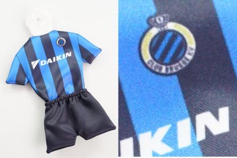 2-part car mini football kit custom printed