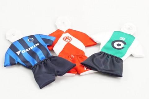 Custom car mini football kits 2-part