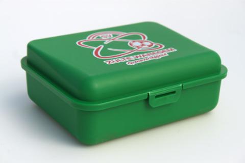 Custom lunch box green