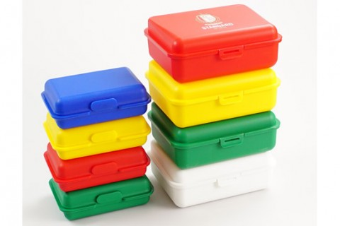 Custom printed lunch boxes colours