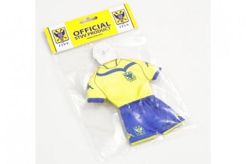 Custom mini football kit in optional individual packaging