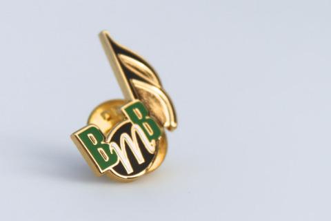 Custom pin bmb