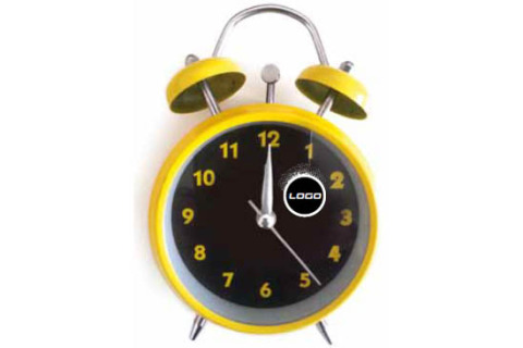 Custom printed alarm clock