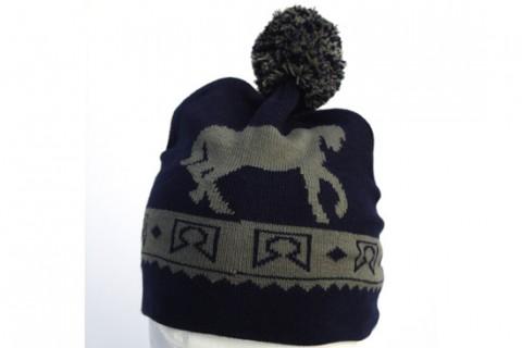 Custom beanie hat with pom pom