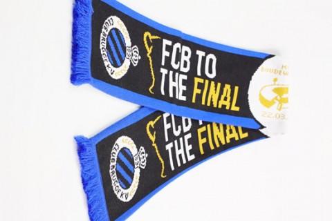 Custom jacquard event final scarf