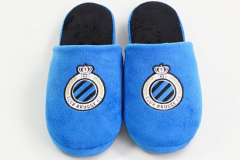 Personalised embroidered logo slippers