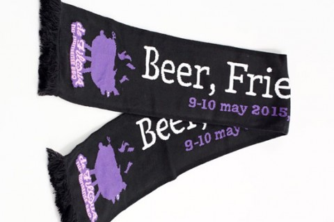 Deluxe HD event scarf bbq