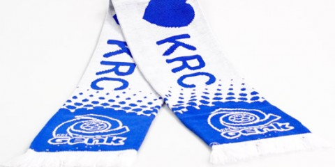 Jacquard football scarf genk