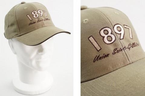 Custom baseball cap with embroidery