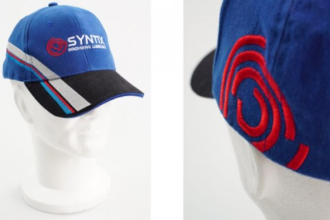Fully personalised cap with embroidery