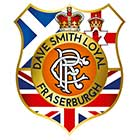 Dave Smith Loyal Fraserburgh Badge Shield
