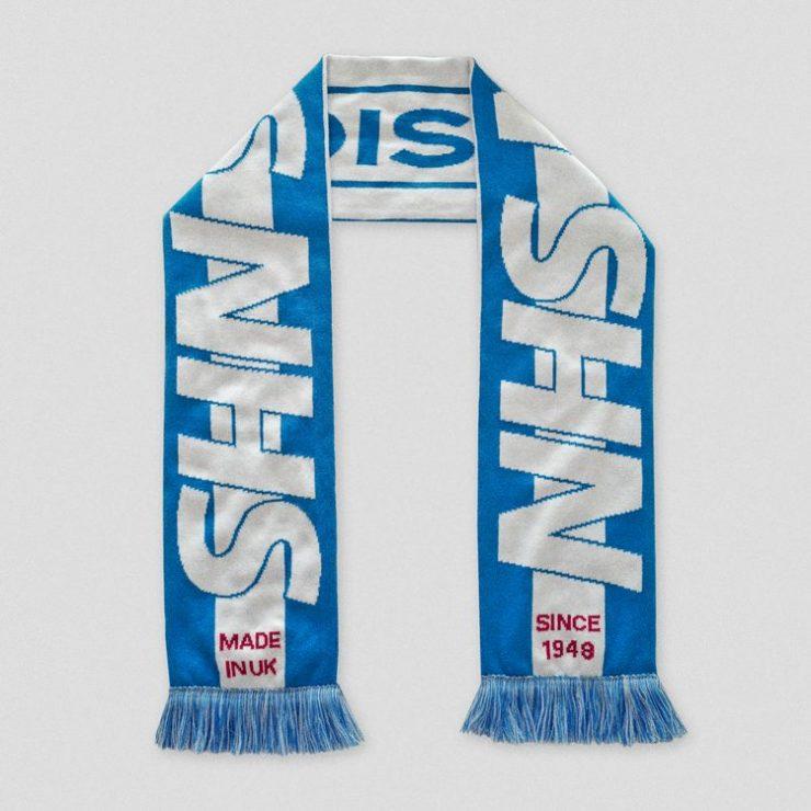 NHS social distancing scarf