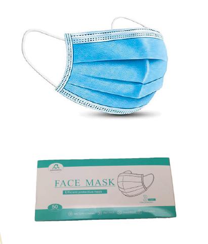 Non woven face mask single use FAS001001