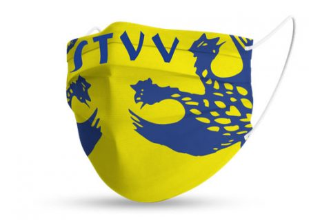 custom face mask stvv football