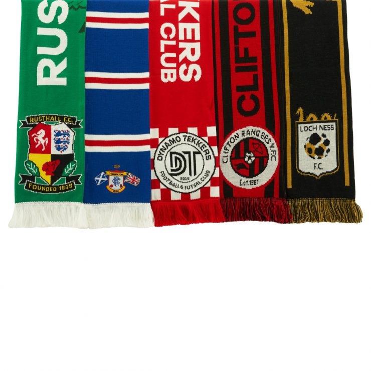 Football scarves selection 2021