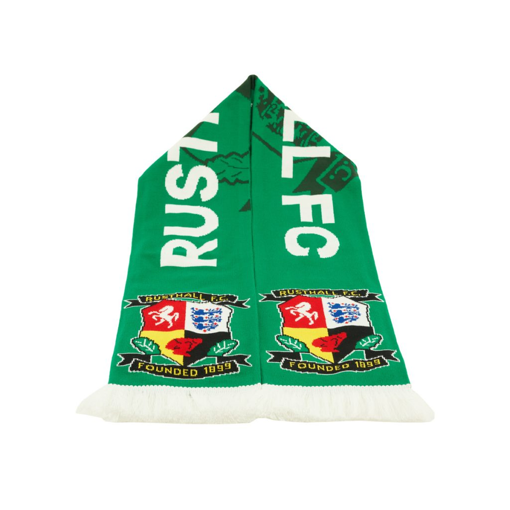 Rusthall FC 2021 football scarves design 1