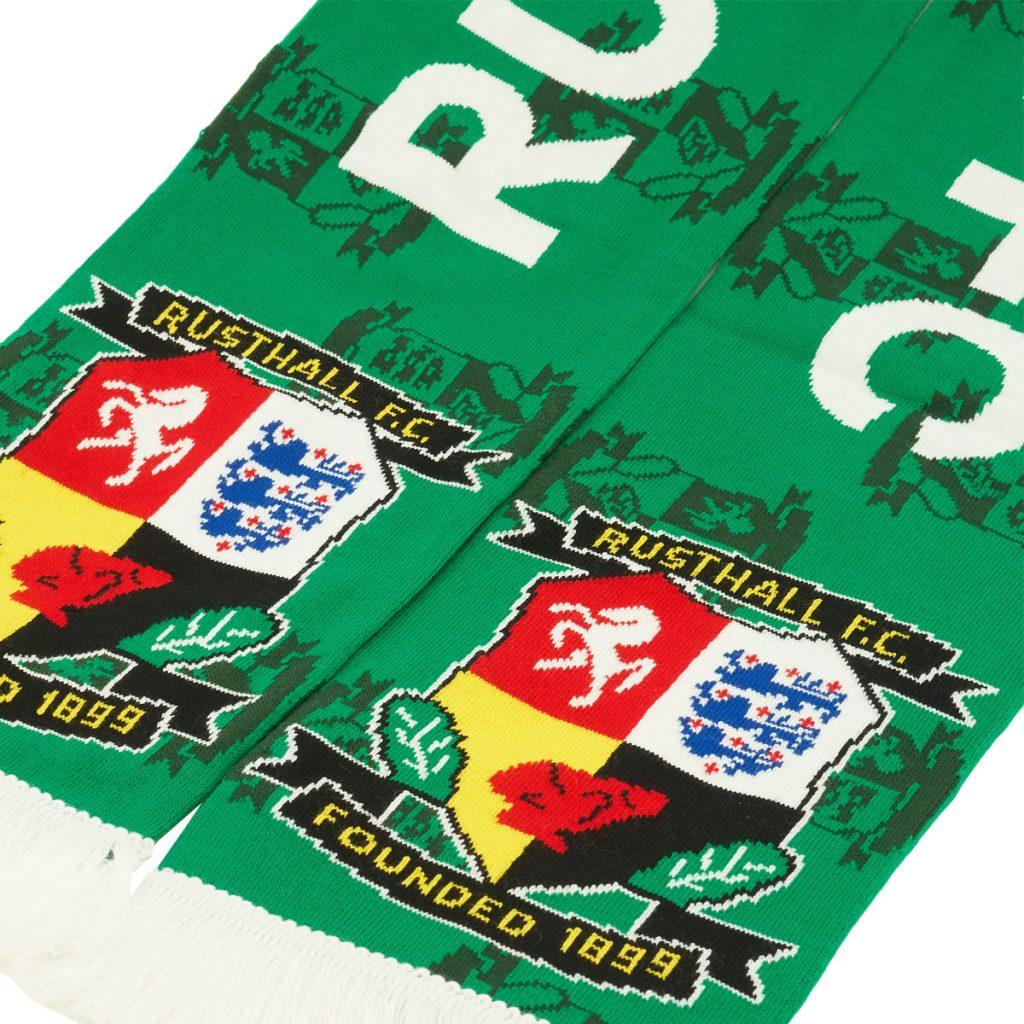 Rusthall FC 2021 football scarves design 2